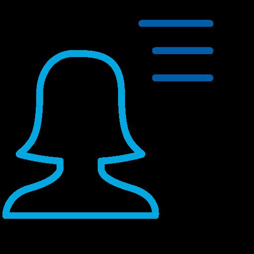 Research profile icon